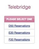 Telebridge reservation start page